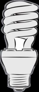Cfl Light Bulb Clipart.