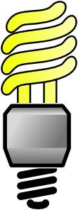 Compact Fluorescent Lit Bulb Clip Art at Clker.com.