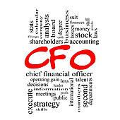Stock Illustration of CFO Word Cloud Concept k12891119.