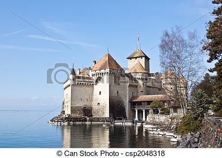 Images de Suisse, CHILLON, Lac, Genève, château.
