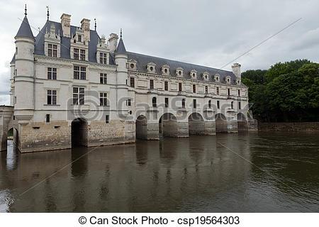 Photographies de château, chenonceau.