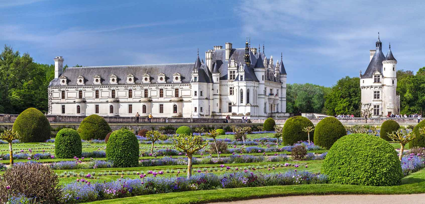 A Beauty in the Loire Valley: Château de Chenonceau.