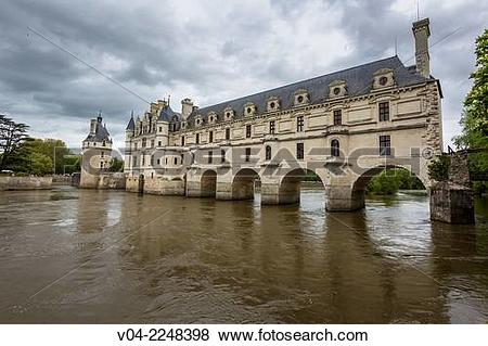 Pictures of The beautiful Château de Chenonceau (Chenonceau Castle.