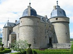 Meysembourg Castle in Luxembourg.