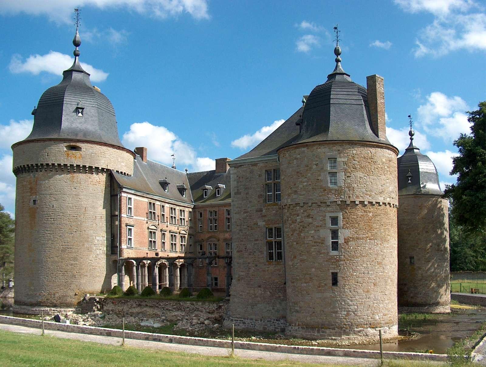 Photo: Castle of Lavaux Sainte Anne.