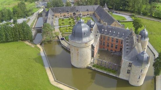 Salle de banquet, Mariage Château de Lavaux.