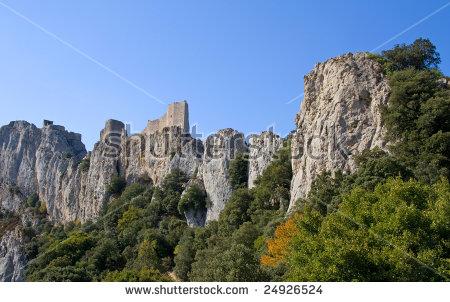 Cathar Castle Stockbilder, royaltyfria bilder och vektorgrafik.