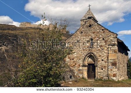 Tourbillon Castle Stock Photos, Royalty.