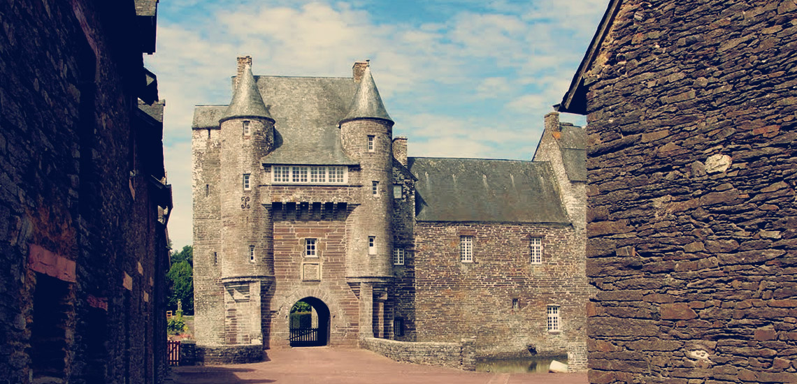 Le Chateau de Trecesson.