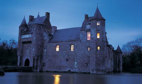 The château de trécesson.