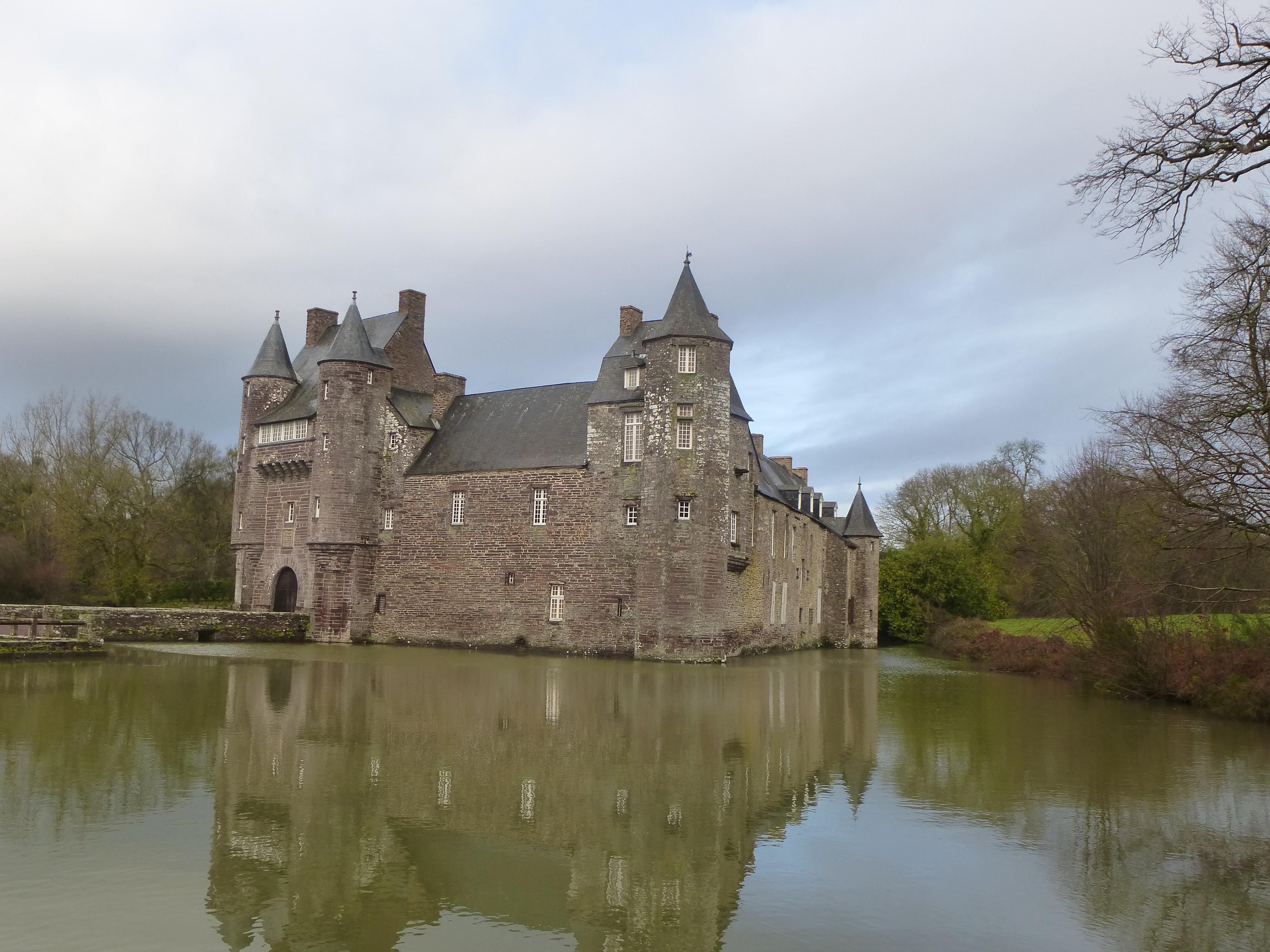 The Château de Trécesson, Brittany.