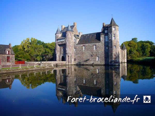 Le château de Trécesson.