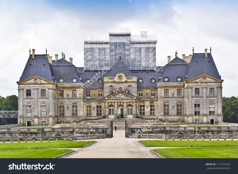 Chateau De Vauxlevicomte 1661 Baroque French Stock Photo 112135154.