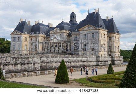 Vaux Le Vicomte Stock Photos, Royalty.
