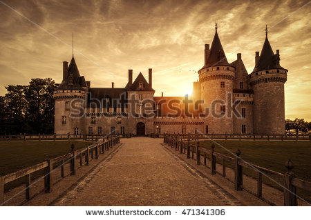 Chateau Stock Photos, Royalty.