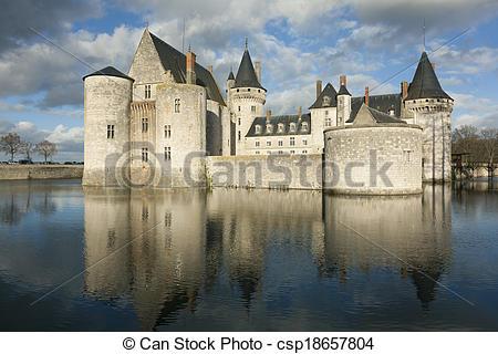 Photographies de château, de, Sully.