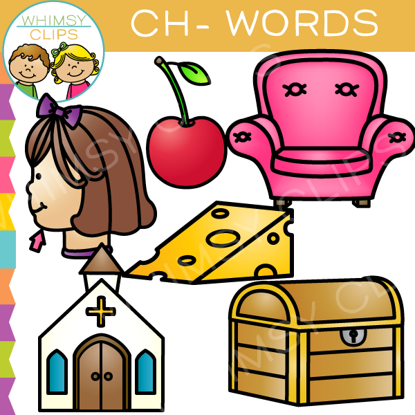 Ch words clip art , Images & Illustrations.