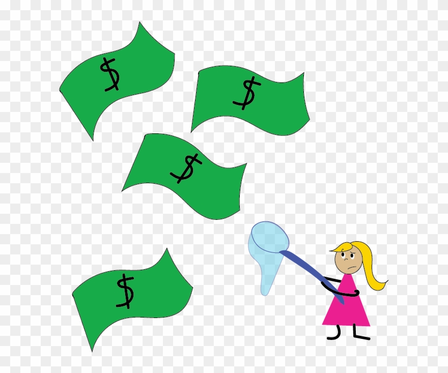 Cha Ching For The Flat Broke Wifey Clipart (#1454210.