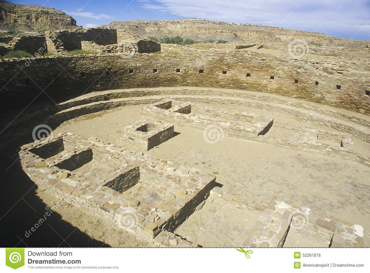 Ceremonial Kiva At Chaco Canyon Indian Ruins, NM, Circa 1060, The.