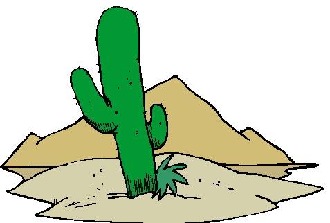 Cactus clip art 7.