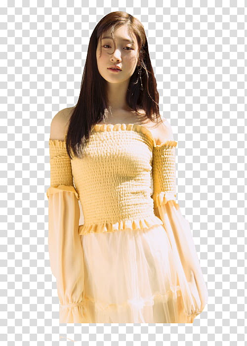 Chaeyeon transparent background PNG clipart.