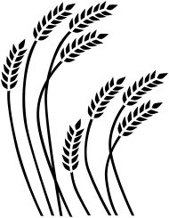 Wheat Pattern Clip Art.