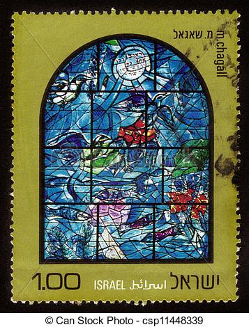 Stock Photos of Chagall Windows.