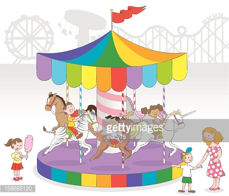 Chain Swing Ride Stock Illustrations And Cartoons.