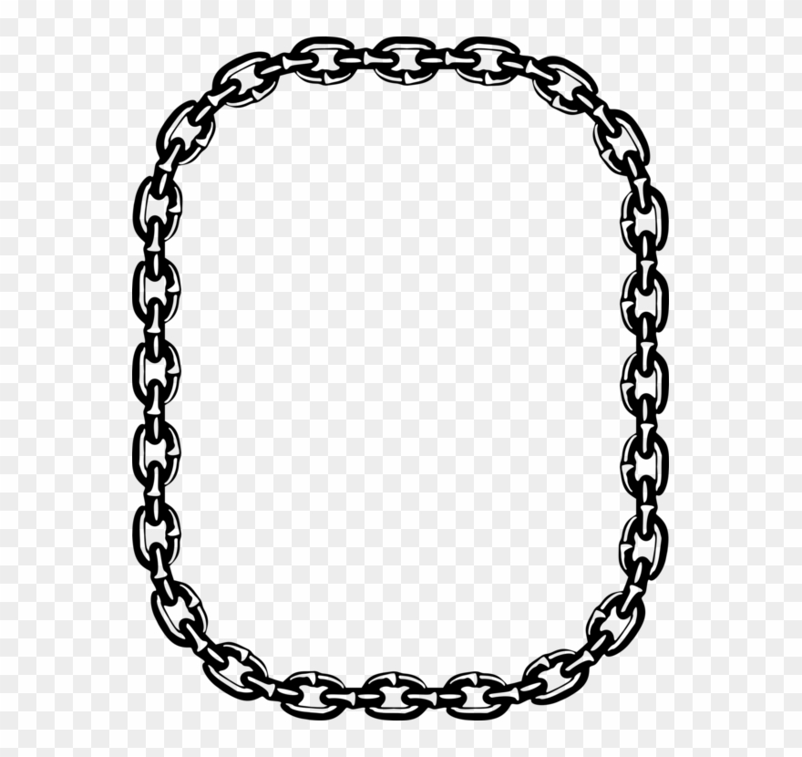 Drawing Chain Necklace.