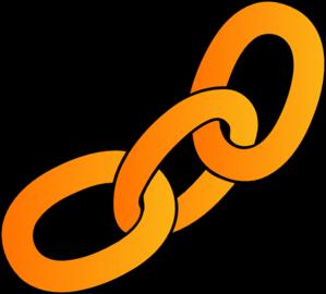 Orange Chain Clip Art at Clker.com.