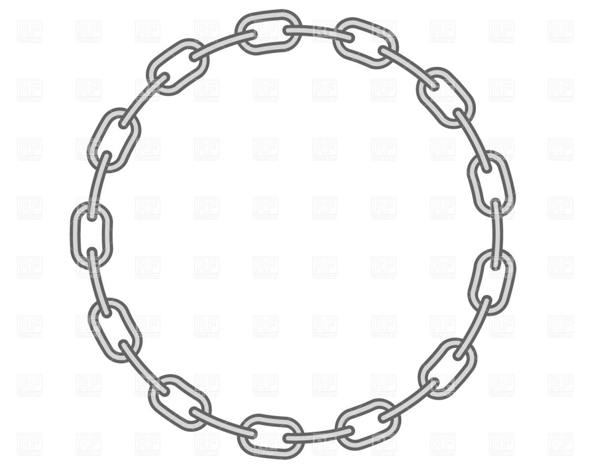 Chain border clip art.