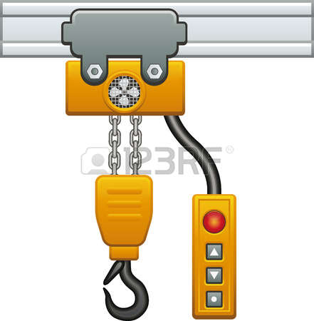 115 Chain Hoist Stock Illustrations, Cliparts And Royalty Free.