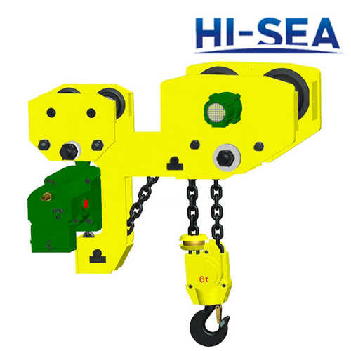 1T Pneumatic Chain Hoist with Trolley Supplier, China Air Balancer.