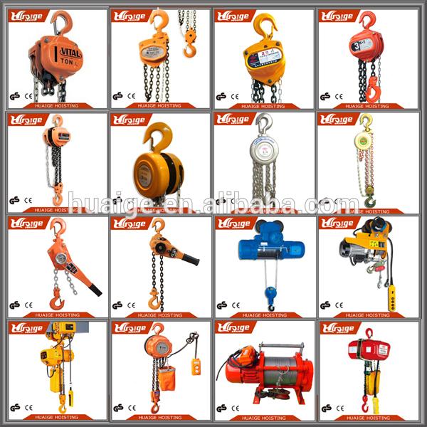 3 ton hand chain hoist manual chain pulley block K75 chain block.