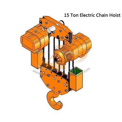 15 Ton Electric Chain Hoist, 15 Ton Electric Chain Hoist.
