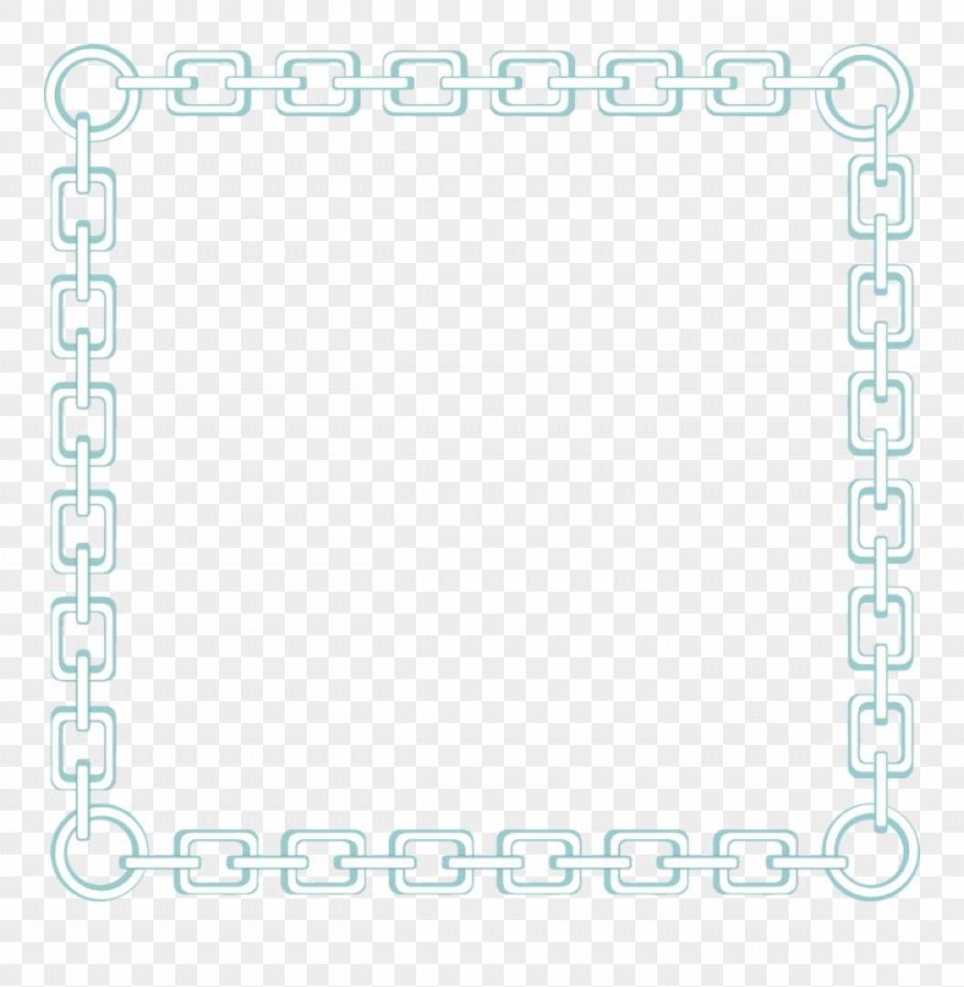 Iirxhbchain Link Clip Art Chain Link Border Png.