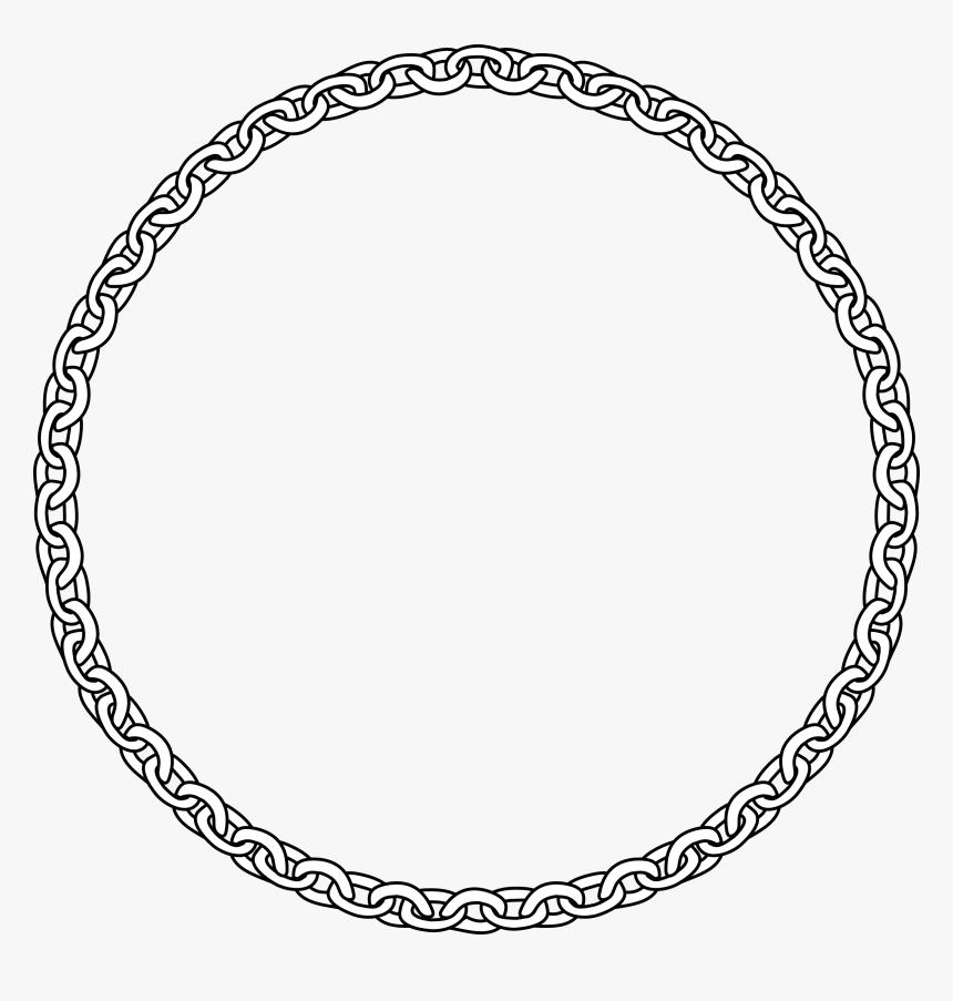 Clipart Circle Chain Link.
