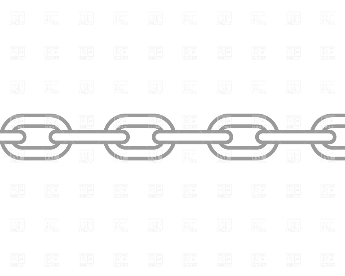 Chain Link Border Clipart.