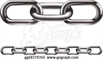 Chain Clip Art Single Link.