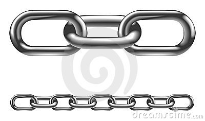 Clipart chain links.