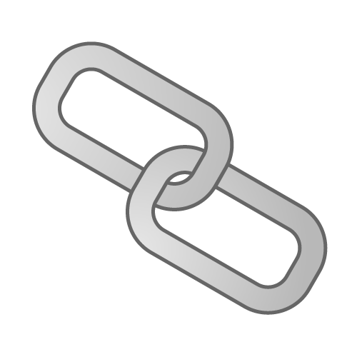 Single Chain Link Clipart.