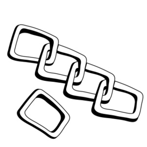 Chain Clipart Image.