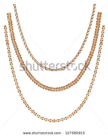 Necklace Stock Images, Royalty.