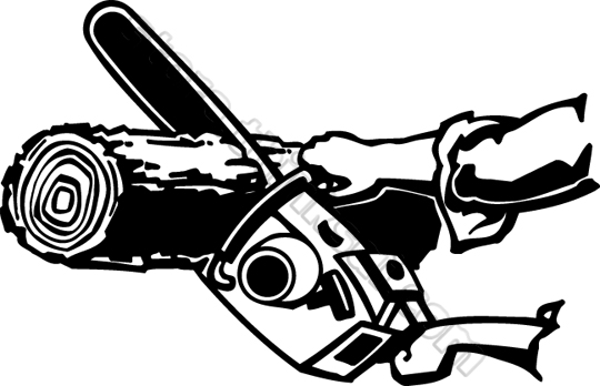 Chainsaw Blade Clipart.