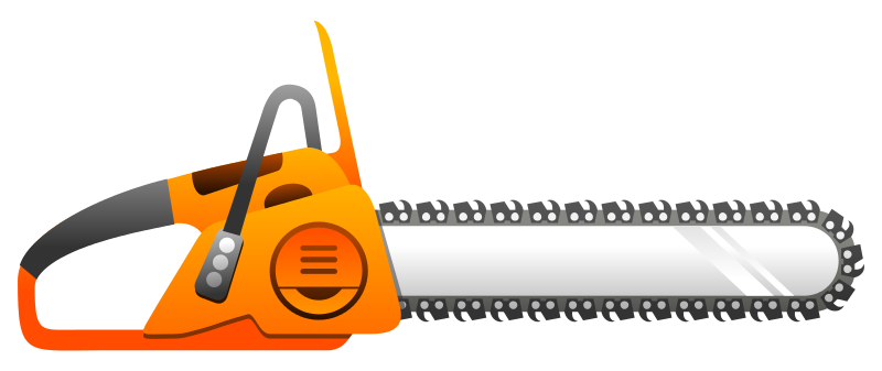 Chainsaw Clipart.