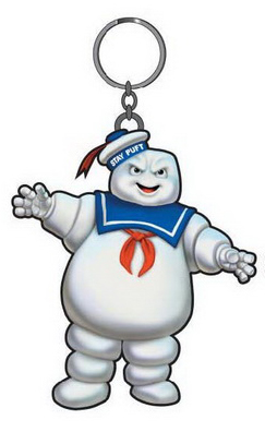 Ghostbusters Key Chain.