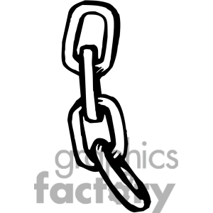 Chained dog clipart black and white.