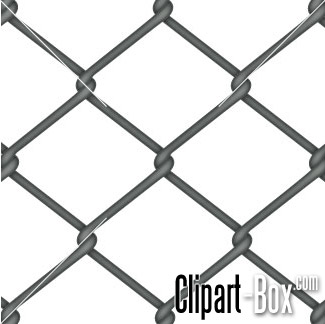 CLIPART CHAIN LINK FENCE.