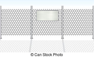 Chainlink fence Vector Clipart EPS Images. 205 Chainlink fence.