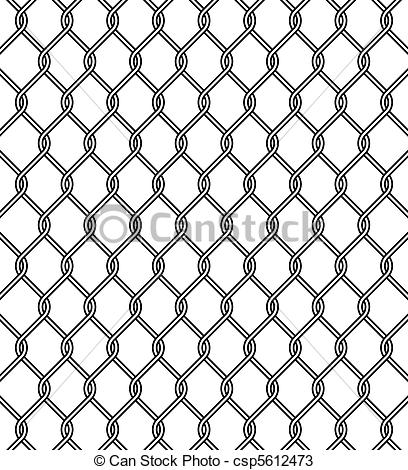 Vectors of chain link fence texture csp5612473.